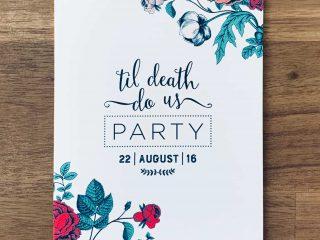 Bespoke Invitation
