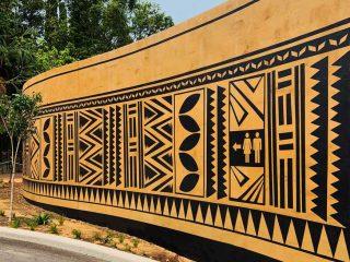 Taronga Zoo African Savannah Mural