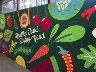 Canteen Mural