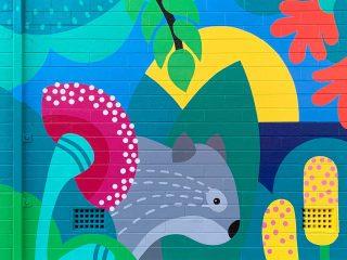 Wombat Mural